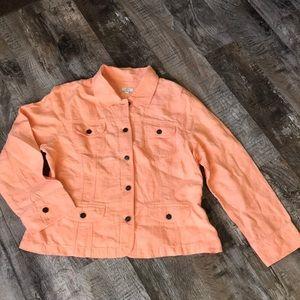 J. Jill linen jacket